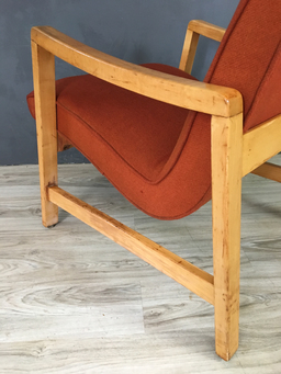 additional images for SALE - Jens Risom Upholstered Lounge Chair