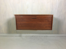 additional images for Teak Danish Modern Wall Mounted Secretary