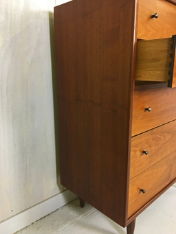 additional images for Danish Modern Teak Highboy Dresser