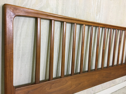 additional images for King Size Danish Modern Teak Headboard