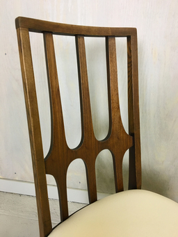 additional images for Set of Broyhill Brasilia Walnut Dining Chairs