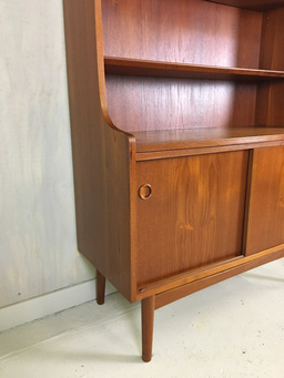 additional images for Johannes Sorth Teak Hutch/Bookcase