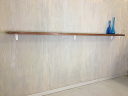 additional images for Charles Webb Extra Long Walnut Shelf