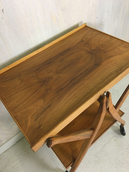 additional images for Walnut Serving Table/Cart by Kipp Stewart for Drexel