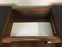 additional images for Mid Century Walnut Bar Cabinet