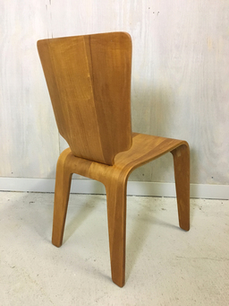 additional images for Set of Four Thaden-Jordan Birch Bentwood Chairs