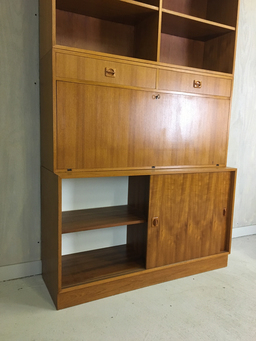 additional images for Danish Modern Modular Teak Desk/Cabinet/Shelving System
