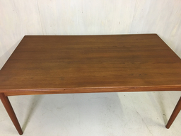 additional images for Danish Modern Teak Extension Dining Table by Soborg Mobler