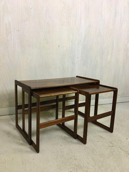 additional images for Hovemand Olsen Rosewood Nesting Tables
