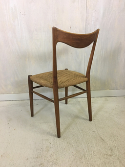 additional images for Danish Modern Teak Danish Cord Accent Chair