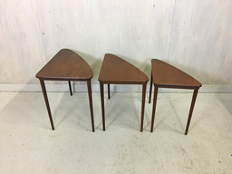 additional images for Danish Modern Teak Nesting Tables