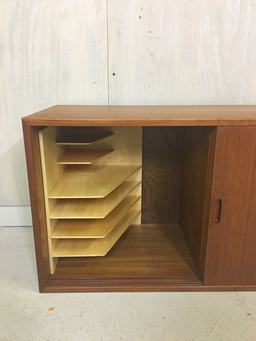 additional images for Teak Wall-Mounted Cado Cabinet and Shelving