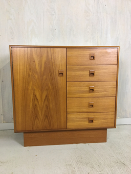 additional images for Danish Modern Teak Gentleman's Chest