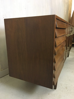 additional images for SALE - Dania Lowboy Dresser for American of Martinsville by Merton Gershun