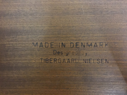 additional images for Danish Modern Teak Tambour Desk by Nielsen Tibergaard