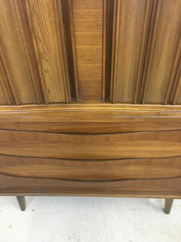 additional images for SALE - Walnut Highboy by Young Manufacturing