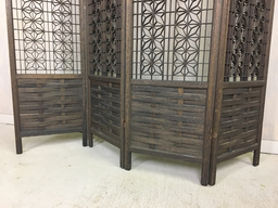 additional images for Mid Century Modern Wood Screen/ Room Divider