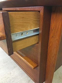 additional images for Mid Century Walnut Executive Desk