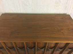 additional images for Kent Coffey Walnut Highboy Bureau