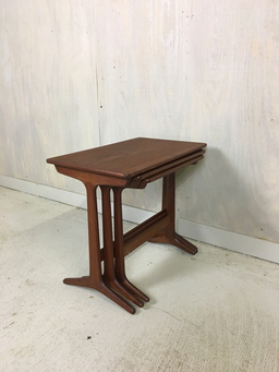 additional images for Heltborg Danish Modern Teak Nesting Tables