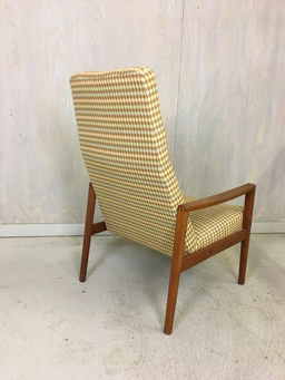 additional images for Ulferts Upholstered Lounge Chair with Teak Frame