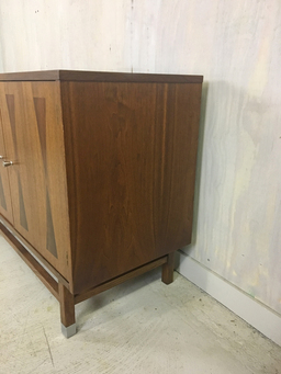 additional images for Walnut Credenza with Rosewood Inlay by Stanley