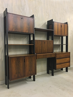 additional images for Danish Modern Rosewood Wall Unit