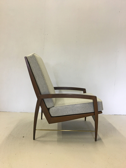 additional images for Mid Century Upholstered Lounge Chair