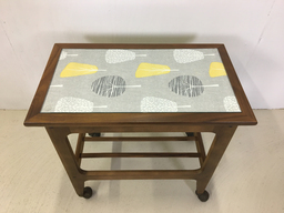 additional images for Refurbished Rolling Bar Cart