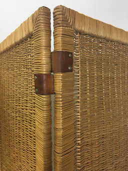 additional images for Mid Century Wicker Screen