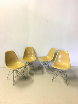 additional images for Herman Miller Eiffel Base Fiberglass Shell Chairs