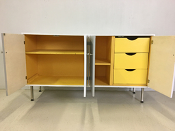 additional images for Handmade Mid Century Painted Credenza