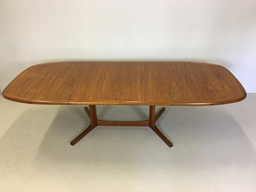 additional images for Danish Modern Teak Pedestal Dining Table for Dyrlund
