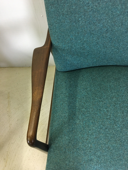 additional images for Pair of Upholstered Lounge Chairs for Stow & Davis