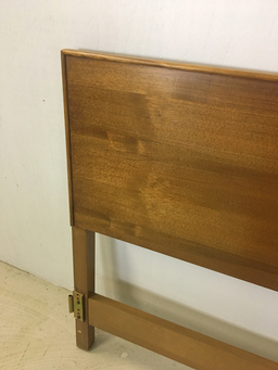 additional images for Kingsize Walnut Headboard