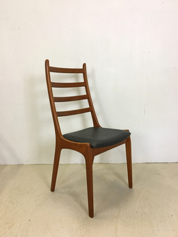 additional images for Danish Modern Teak Dining Chairs by Kai Kristiansen