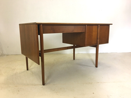 additional images for Drexel Parallel Walnut Extension Desk by Barney Flagg