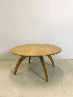 additional images for Heywood Wakefield Lazy Susan Round Coffee Table