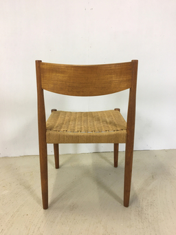 additional images for Set of Six Teak and Danish Cord Dining Chairs
