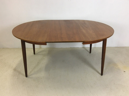 additional images for Morredi Round Danish Modern Teak Dining Table