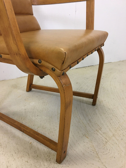 additional images for Heywood Wakefield Bentwood Accent Chair