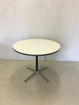 additional images for Round Table by Herman Miller with Chrome Base