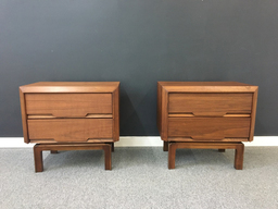 additional images for Pair of Walnut Nightstands