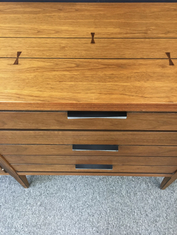 additional images for Lane Furniture Tuxedo Credenza with Inlay