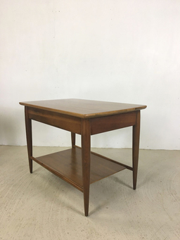 additional images for Pair of Mersman Walnut End Tables