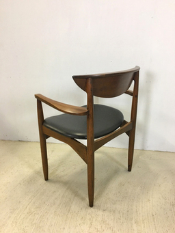 additional images for Lane Perception Walnut Dining Chairs