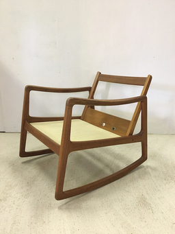 additional images for Ole Wanscher for John Stuart Teak Rocking Chair
