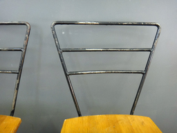 additional images for Vintage Sears Metal and Wood Chairs