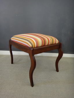 additional images for Antique Upholstered Footstool