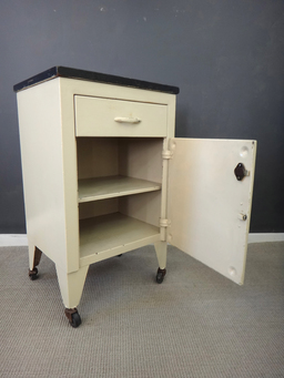 additional images for Vintage Metal Hospital Cabinet